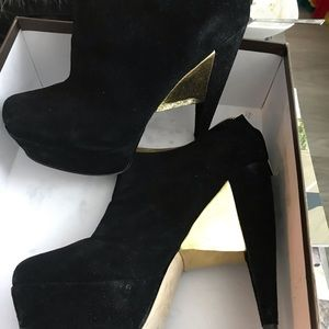 Goddess ankle boots